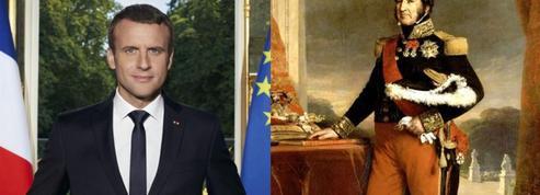 «Macron est une copie du Roi Louis-Philippe»