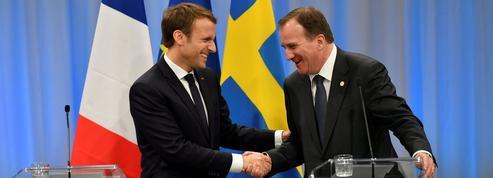 Macron prêt à pénaliser les Européens qui traînent sur le social