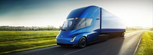 Tesla dévoile son premier camion électrique