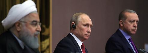 Syrie: Poutine peine à fédérer ses alliés turc et iranien