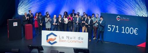 À La Nuit du bien commun, 600 000 euros donnés au profit de 15 associations