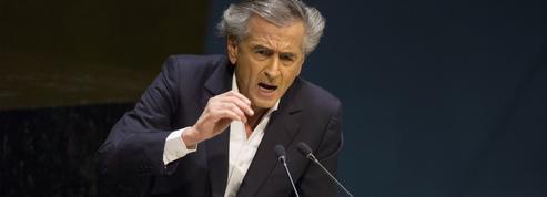 À l'ONU, Bernard-Henri Lévy défend la cause kurde