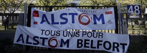 Les salariés d'Alstom en grève à l'approche de la fusion avec Siemens