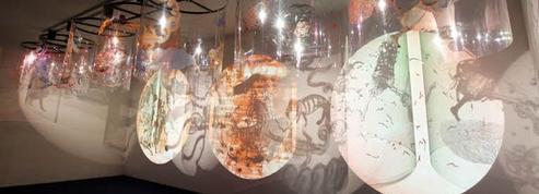 La valse des songes de Nalini Malani au Centre Pompidou