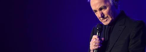 Charles Aznavour, tout à trac à Bercy