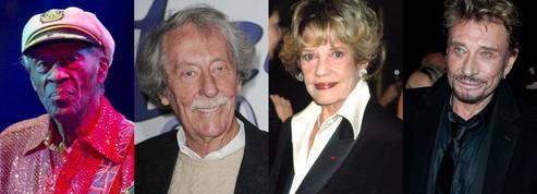 Jeanne Moreau, Jean Rochefort, Johnny Hallyday... L'année des grands disparus
