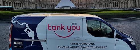 «Tank You», la start-up qui livre l'essence là où vous êtes