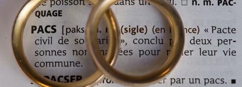 En France, il y a plus de pacs à l'Ouest et plus de mariages à l'Est