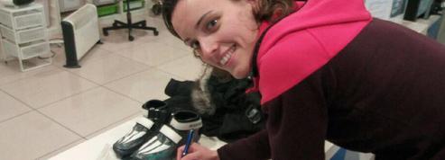 JO 2018 : Véronique Pierron a remis la main sur ses patins volés