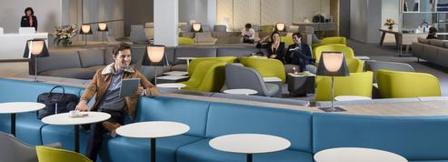 Air France : à Roissy, la classe du nouveau salon