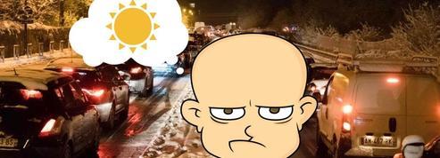 Non, ce n'est pas contre la neige que les internautes rouspètent