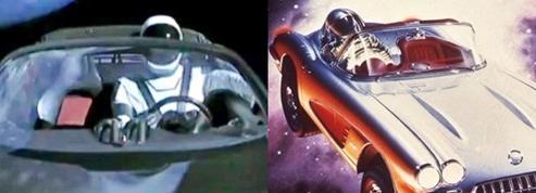 La voiture spatiale d'Elon Musk ou les délires du film Métal hurlant enfin réalisés