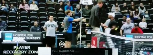 Incident raciste entre Harrison et Young au tournoi de tennis de New York ?