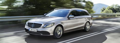 Mercedes Classe C, à l'épreuve de la retouche
