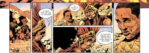 Bande dessinée : Le Nouveau Monde ,une conquête en or