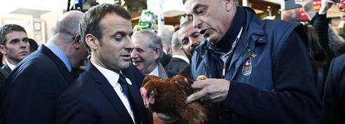 Emmanuel Macron face aux doutes du monde rural