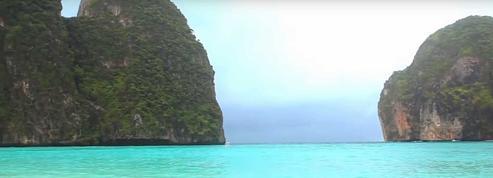 Thaïlande : fermeture temporaire de la baie rendue célèbre par le film La Plage
