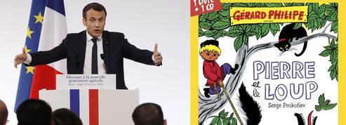 Après Gérard Philipe, Brel, Bowie, si Pierre et le Loup nous était conté par... Emmanuel Macron