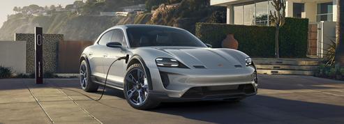 Porsche Mission E Cross Turismo, l'électrique pour les baroudeurs