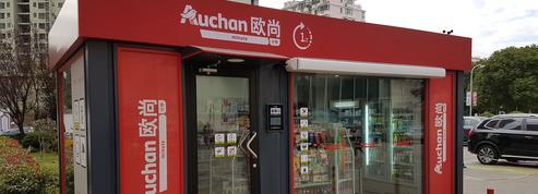 Auchan au pas de charge en Chine