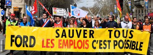 Ford : plus de 900 emplois menacés à Blanquefort