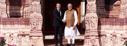 Macron pousse les intérêts français en Inde