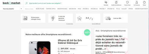 Le marché des smartphones d'occasion s'envole en France