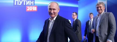 Russie : Vladimir Poutine largement réélu pour un quatrième mandat