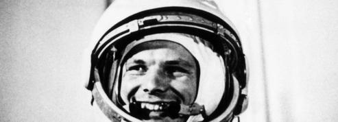 Triomphe à Moscou en avril 1961 pour Iouri Gagarine, premier homme dans l'espace