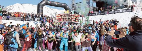 Au Grand-Bornand, ils ont skié pour une association