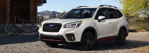 Le Subaru Forester muscle son jeu