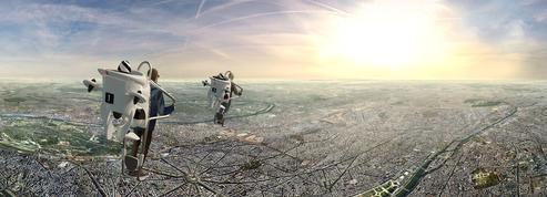 En balade virtuelle dans le ciel de Paris