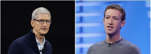 Critiqué par Tim Cook, Mark Zuckerberg s'en prend à Apple
