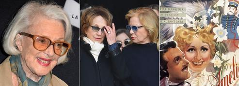 Micheline Presle, Nathalie Baye et Sylvie Vartan rendent hommage à Danielle Darrieux
