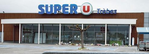À Trèbes, le Super U rouvre ses portes, la ville panse ses plaies