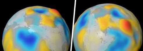 L'eau salée des océans produit un très léger champ magnétique