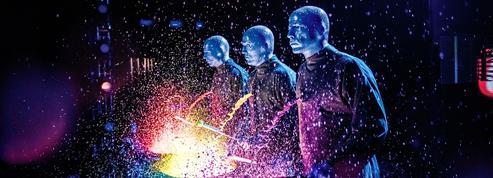 Blue Man Group à Monaco : un show coloré et sans paroles