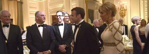 Macron et Trump : le glamour du dîner d'État après le marathon politique