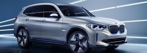 BMW iX3 Concept, un SUV électrique en 2020