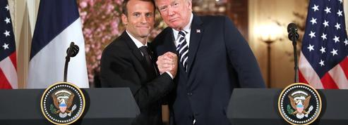 «Macron-Trump, le ''je t'aime, moi non plus'' franco-américain»