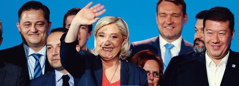 À Nice, Marine Le Pen s'affiche avec ses alliés européens