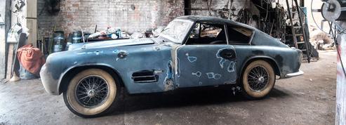 Jaguar XK 140 Michelotti, une sortie de grange aux enchères