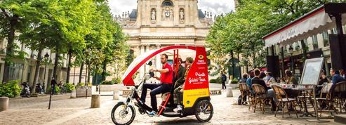 Le cœur de Paris en cyclo-pousse