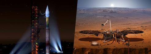 Insight est partie sonder les entrailles de la planète Mars