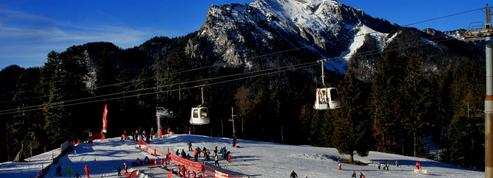 Dans les Alpes, moins de neige en moyenne altitude