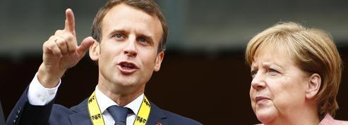 Emmanuel Macron cherche le soutien allemand pour défendre la «souveraineté» de l'Europe