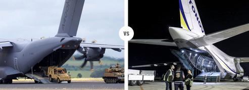Airbus A400M Atlas VS Antonov 124 Ruslan: la bataille du transport militaire