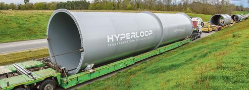 Hyperloop TT assemble ses prototypes de train supersonique en France