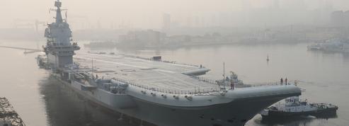 Le premier porte-avions 100% chinois démarre ses essais en mer
