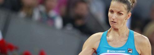 Tennis : Pliskova détruit la chaise de l'arbitre à coups de raquette après avoir perdu